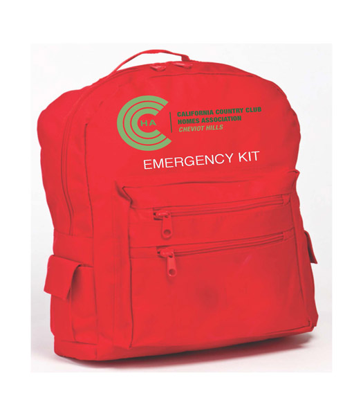 CCCHA EMERGENCY KIT