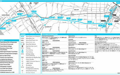 EXPO Line Schedule & Map