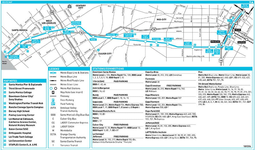 Expo Line Map EXPO Line Schedule & Map | CCCHA Expo Line Map