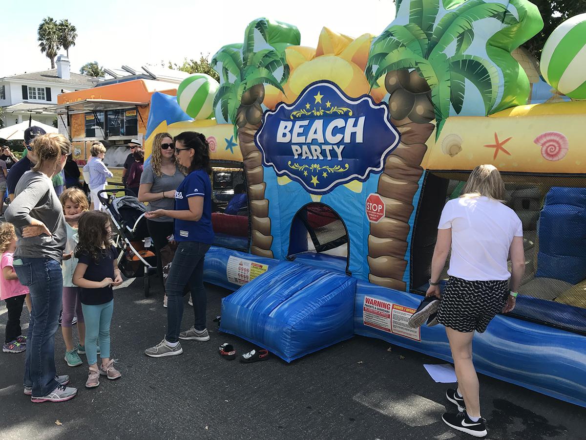 CCCHA Beach Party Bounc House