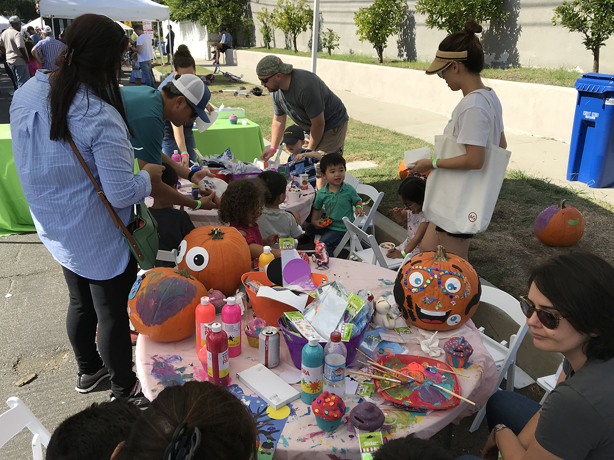 CCCHA pumpkin decorating